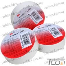 Изолента электротехническая 0,13мм х19мм, 20м, белая, 3M-TEMFLEX™