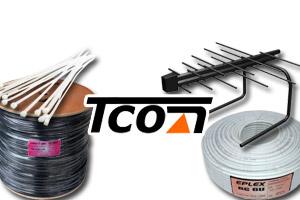 Поступление коаксиальных кабелей, стяжек и обновление ассортимента антенн от 09.2021