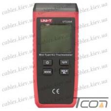 Цифровой термометр UT320A для термопар K/J типов, -50 - +1300°C, UNI-T