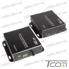 Устройство для передачи HDMI по оптическому кабелю до 20 км, Tcom
