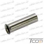 Кабельный наконечник втулочный не изолированный 0,5мм.кв, длина 6мм (100шт/уп) (ЕN0506), Tcom