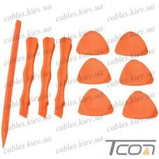 Набор пластиковых медиаторов и лопаток Jakemy OP11 (10 приборов)