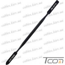 Металлическая лопатка ESD для ремонта телефонов Jakemy OP13